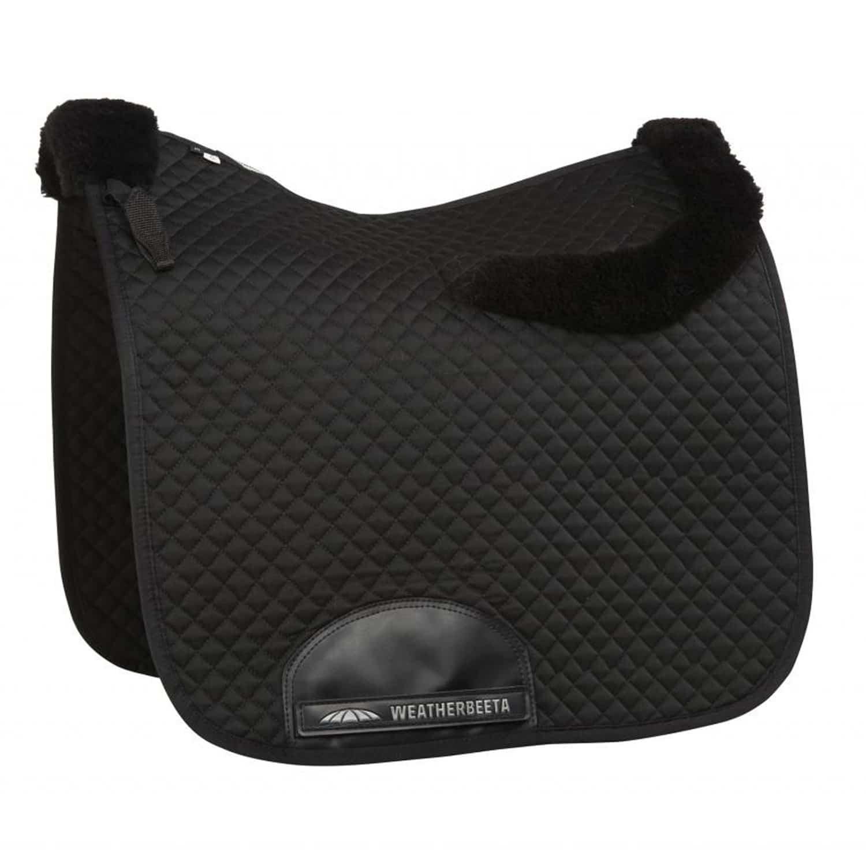Weatherbeeta Dressage Saddle Pad With Merino Edging